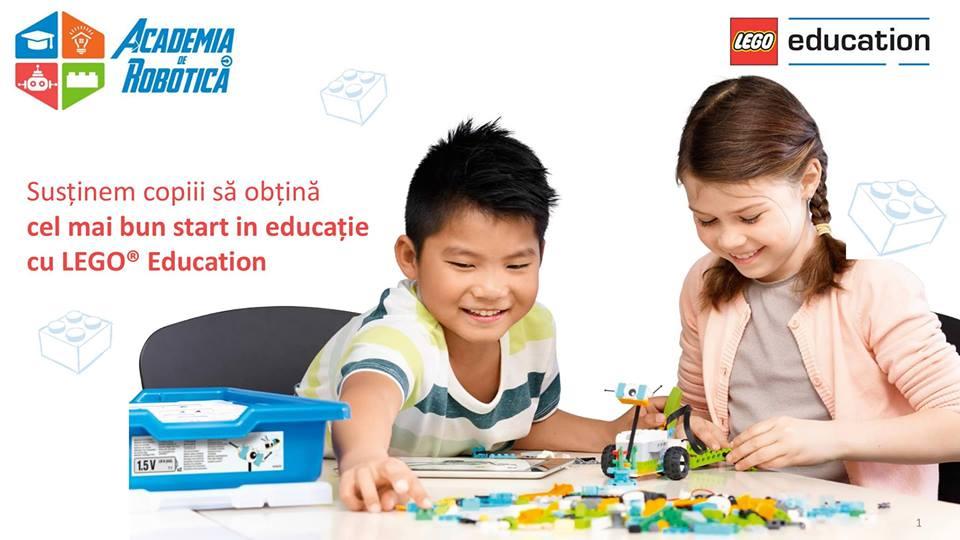 Ateliere de LEGO (modul adresat copiilor de 4-6 ani)