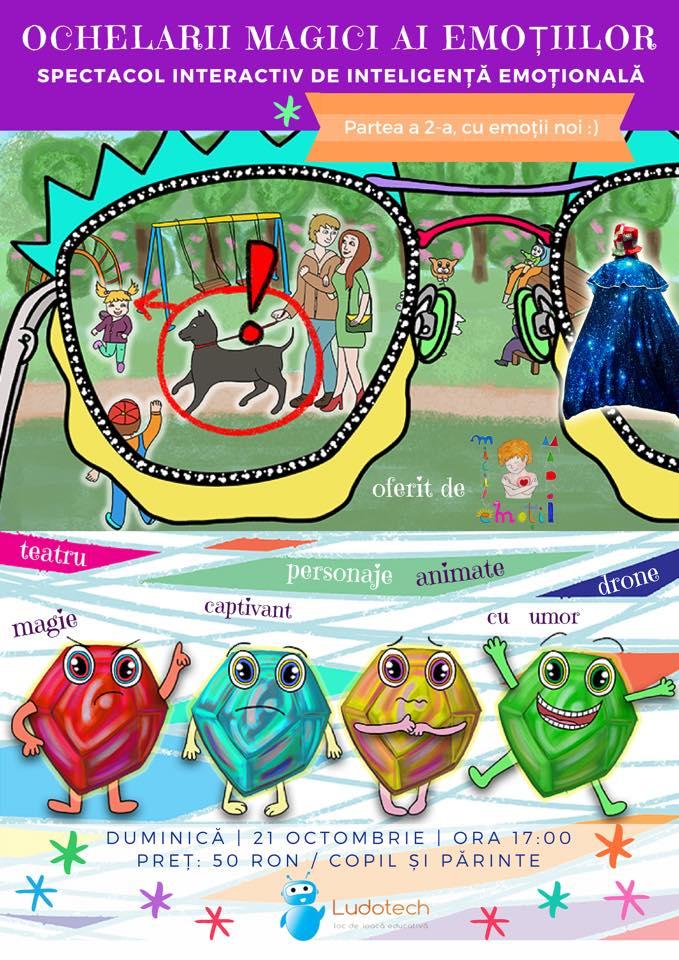 Ochelarii magici ai emoțiilor (2-7 ani)