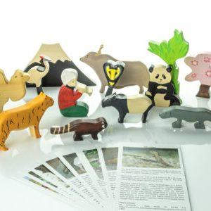 Animale pe continentul asiatic
