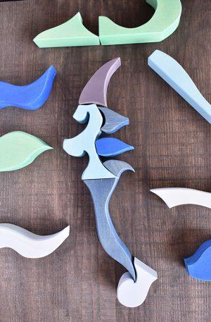 Briza oceanului, puzzle creativ