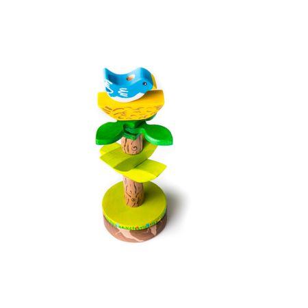Copacul de foioase, jucarie din lemn de stivuit