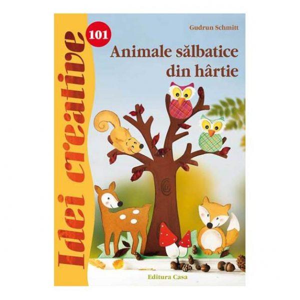 Animale sãlbatice din hârtie - Idei creative 101