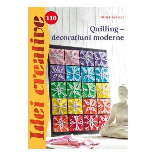 Quilling – decoraţiuni moderne - Idei creative 110