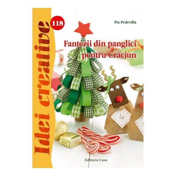 Fantezii din panglici pentru Crăciun - Idei creative 118