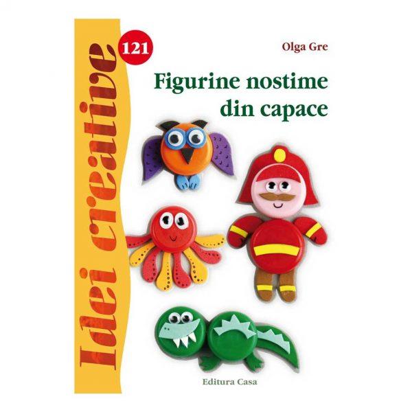 Figurine nostime din capace - Idei creative 121