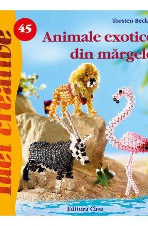 Animale exotice din mãrgele – Idei Creative nr. 45