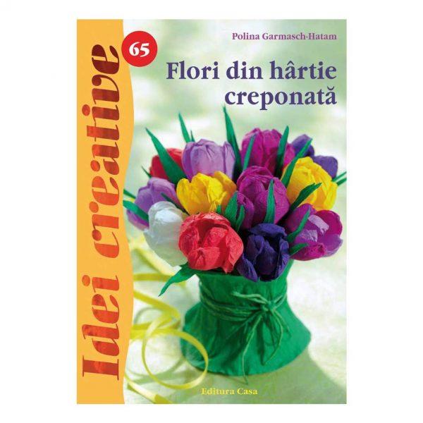 Flori din hârtie creponatã - Idei Creative 65