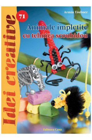 Animale împletite cu tehnica scoubidou – Idei creative 71