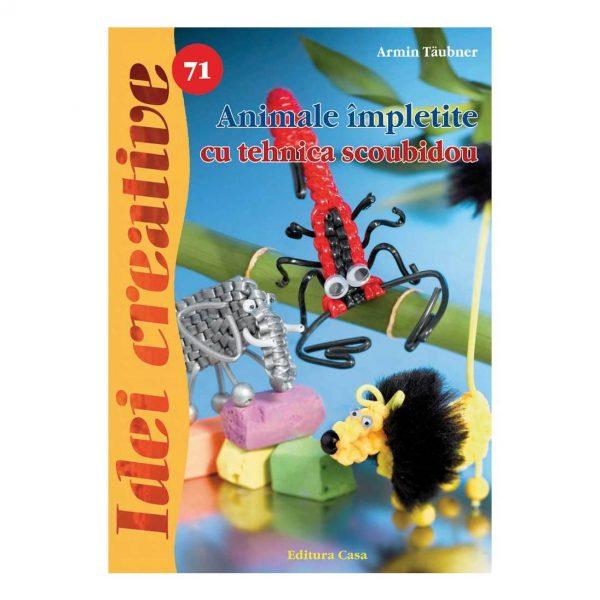 Animale împletite cu tehnica scoubidou - Idei creative 71
