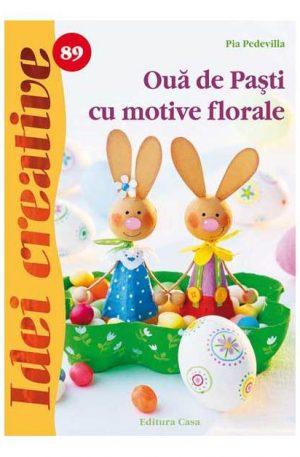 Ouă de Paşti cu motive florale – Idei creative 89