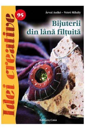 Bijuterii din lână filţuită – Idei creative 95