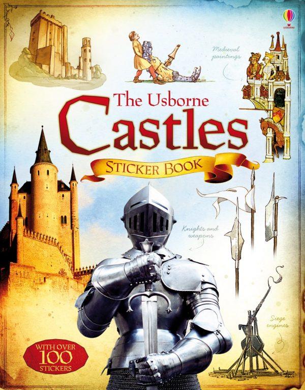 Castles sticker book