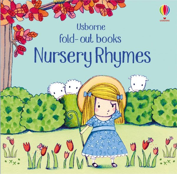 Fold out books nursery rymes