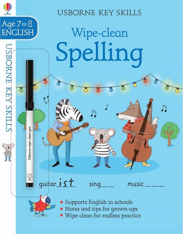 Wipe Clean Spelling 7-8 ani