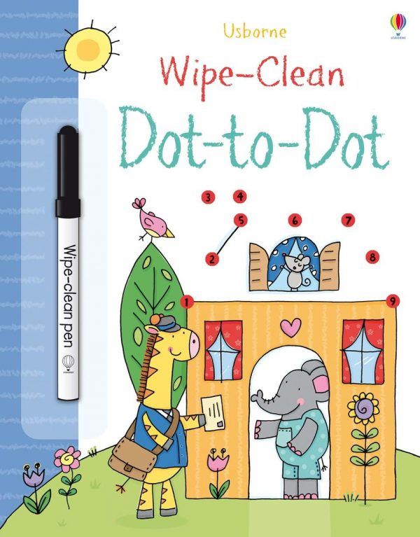 Wipe and clean dot to dot