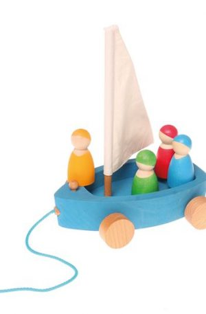 Barcuta cu 4 marinari