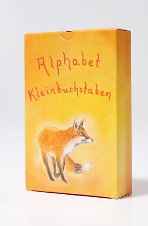 Carduri ilustrate, Germana (litere de mana)
