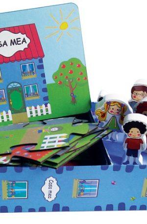 Casa Mea – Set cu Puzzle, Carte, Figurine