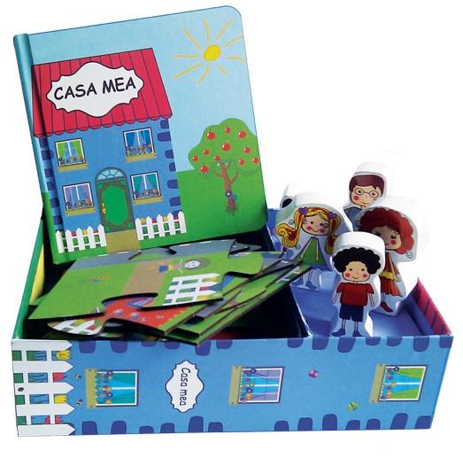Casa Mea - Set Puzzle, Carte, Figurine