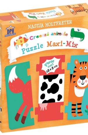 Creeaza animale – Puzzle Maxi-Mix