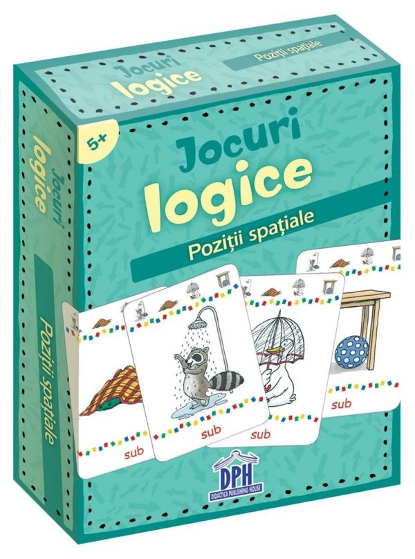 Jocuri logice - Pozitii spatiale - jetoane