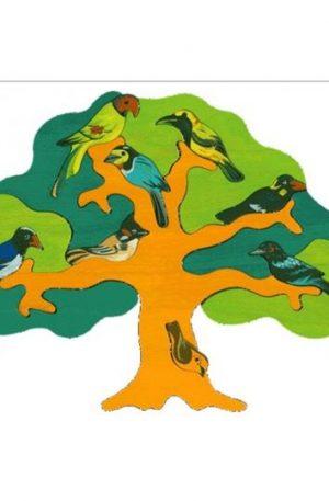 Jucărie Fauna – Copac cu păsări – regiunea Asia