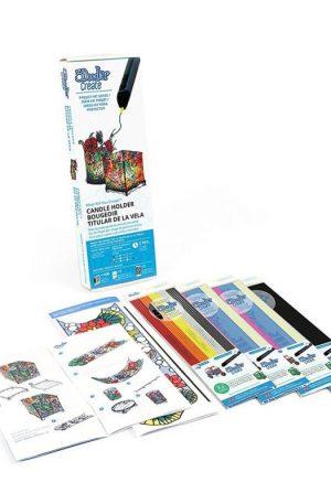 Kit proiecte cu filamente si sablon pentru 3Doodler Create