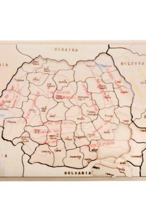 Hai să ȋnvăţăm despre ROMÂNIA!- kit relief