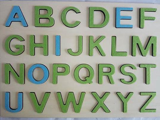 Hai sa invatam literele mari!