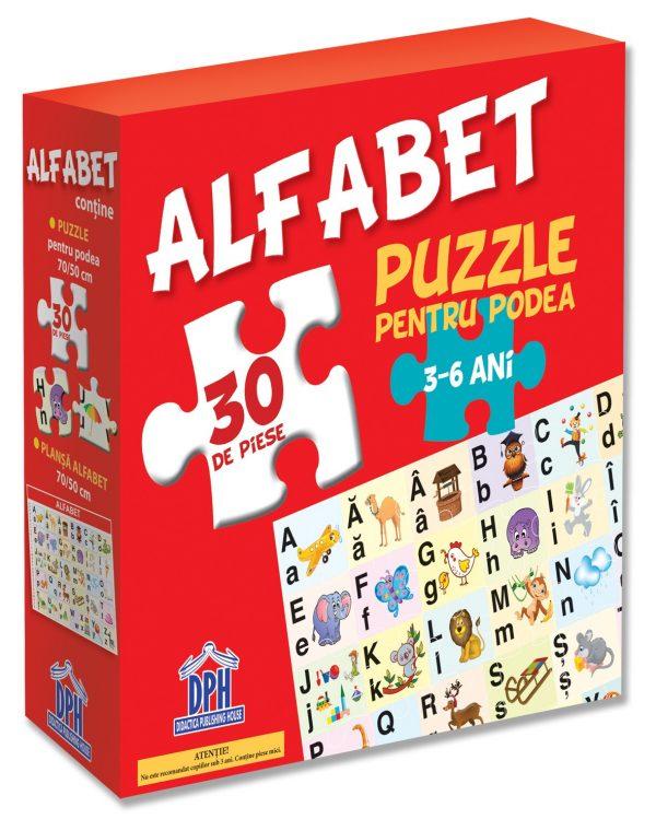 Puzzle pentru podea - Alfabet - 3-6 Ani