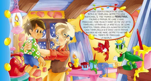 Asculta si recunoaste sunetele. Pinocchio