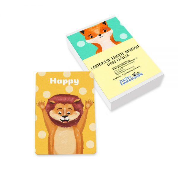 Cartonase emotii animale engleza