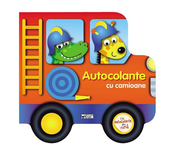 Construieste vehicule cu autocolante. Autocolante cu camioane