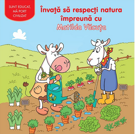 Matilda este o văcuţă veselă şi fără griji, dar care nu ține seama de natura din jurul ei. Ea striveşte florile şi legumele fără să-i pese, lasă apa de la robinet să curgă şi nu-şi triază gunoaiele. Marta Capra se hotărăşte să o înveţe să respecte natura. O scurtă lecţie de ecologie, care se va dovedi foarte atractivă!