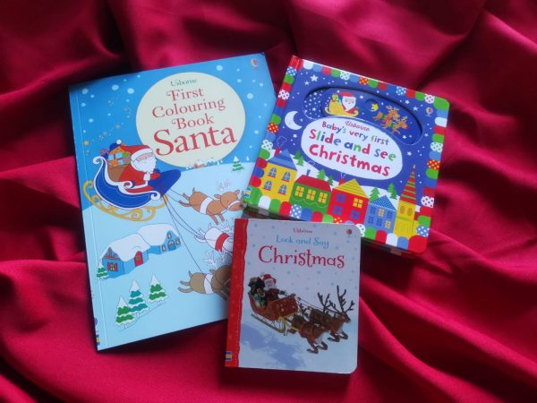 Pachet LD_001_82: First Colouring Book; Santa Slide and See Christmas; Look and Say Christmas