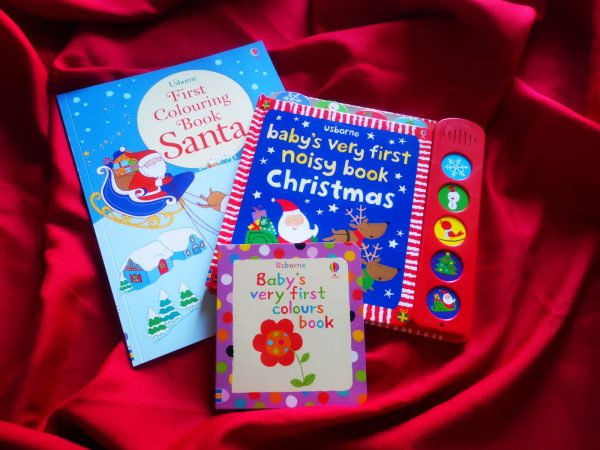 Pachet LD_001_89: First Colouring Book Santa; BVF Noisy Book Christmas; BVF Colours Book;