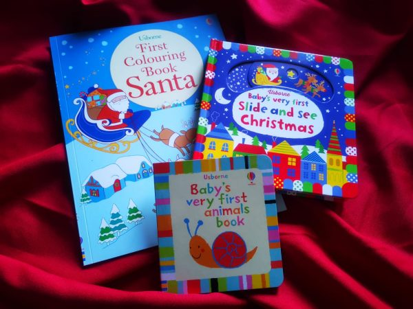 Pachet LD_002_82: First Colouring Book Santa; Slide and See Christmas; BVF Animals Book