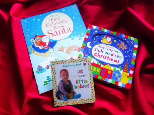 Pachet LD_003_82: First Colouring Book Santa; Slide and See Christmas; BVF Little Book of Little Babies