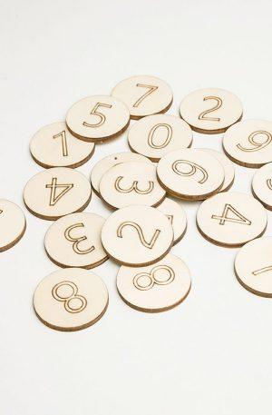 Memo game – Cifre