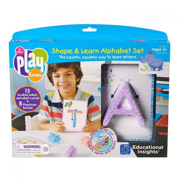 Shape and learn alphabet set