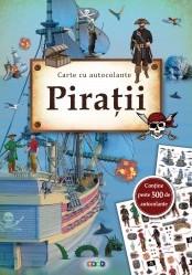 Piratii. Carte cu autocolante