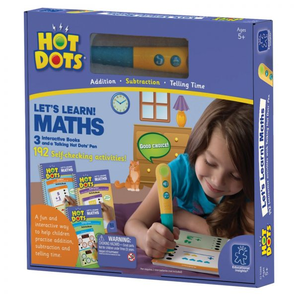 Hot Dots Let's Learn Maths