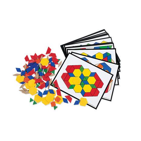 Pattern Block - set de activitati logice