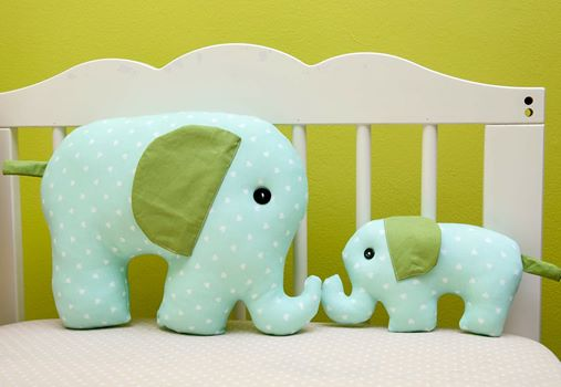 Elefantel cu pui