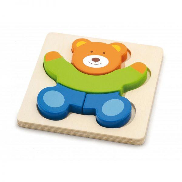 Puzzle din lemn - ursulet