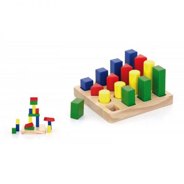 Puzzle sortator 4 forme geometrice