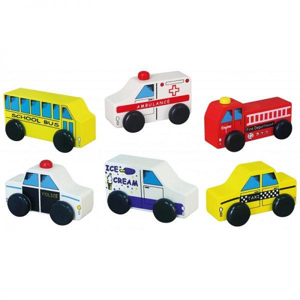Set 6 vehicule de oras