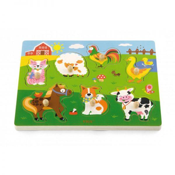 Puzzle cu sunete - animale