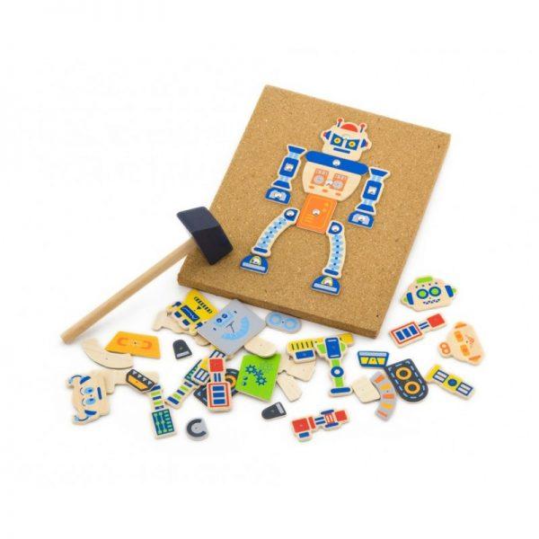 Set de mesterit - Roboti, Viga