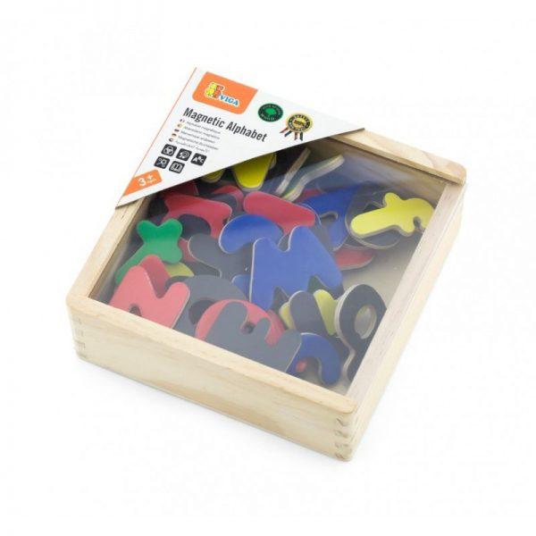 Set litere magnetice (52 piese), Viga